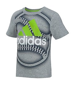 adidas® Boys' 2T-7 Short Sleeve Baseball Tee
