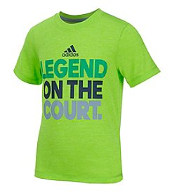 adidas® Boys' 2T-7 Short Sleeve Legend Of Court Tee
