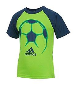 adidas® Boys' 2T-7 Short Sleeve Radiant Sport Tee