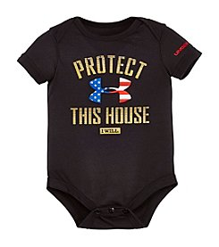 Under Armour® Baby Boys Protect This House Bodysuit