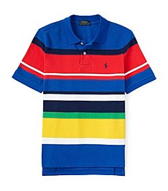 Ralph Lauren Childrenswear Boys' 8-20 Short Sleeve Striped Polo