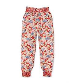 Polo Ralph Lauren® Girls' 2T-6X Floral Joggers