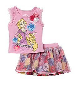 Disney Princess® Girls' 2T-6X Express Yourself Rapunzel Printed Tank and Scooter Set