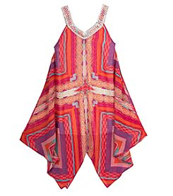 Rare Editions® Girls' 7-16 Printed Trapeze Dress
