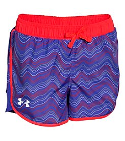 Under Armour® Girls' 2T-6X Fast Lane Novelty Shorts