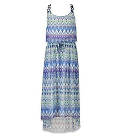 Speechless® Girls' 7-16 Geo Printed Maxi Dress
