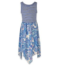 Speechless® Girls' 7-16 Striped Bodice Dress