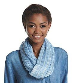 Cejon® Lurex Infused Space Dye Yarn Dye Infinity Scarf