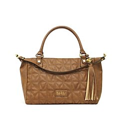 Nicole Miller New York Madison Distressed Suede Satchel