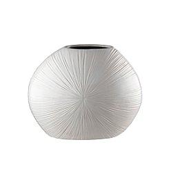 Prinz® Ceramic Round White Vase