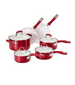 Guy Fieri 12-pc. Red Ceramic Cookware Set