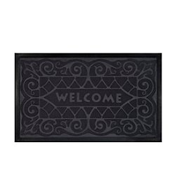 Achim Wrought Iron Rubber Mat