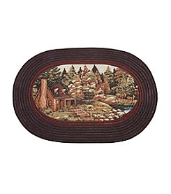 Achim Woodlands Braided Rug