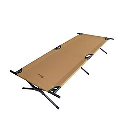 Ore International™ Brown Camping Cot