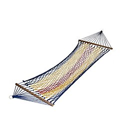 Ore International Rainbow Blue Hammock