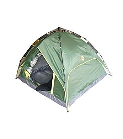 Ore International Foldable Camping Green Tent for 3-4 person