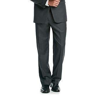 UPC 776059110839 product image for Lauren Ralph Lauren Solid Charcoal Dress Pants | upcitemdb.com