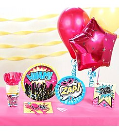 Superhero Girl Party Kit