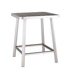 Zuo Modern Megapolis Brushed Aluminum Bar Table