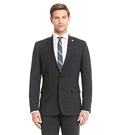 Nick Graham® Men's Black Plaid Suit Separates Jacket