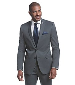 Nick Graham® Men's Gunmetal Solid Suit Separates Jacket