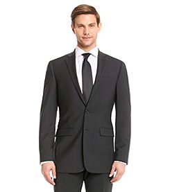 Calvin Klein Men's Charcoal X-Fit Suit Separates Jacket