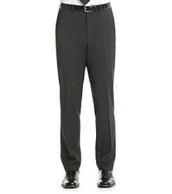 Calvin Klein Men's Charcoal X-Fit Suit Separates Pants