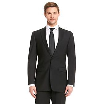 Calvin Klein Men's Black X-Fit Suit Separates Jacket