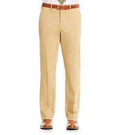 Nautica® Men's Camel Cotton Solid Suit Separates Pants