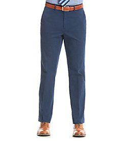 Nautica® Men's Navy Cotton Solid Suit Separates Pants