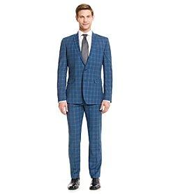 Nick Graham® Men's Blue Plaid Suit Separates