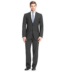 John Bartlett Statements Men's Black Pindot Suit Separates