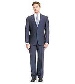John Bartlett Statements Men's Blue Pindot Suit Separates