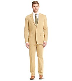 Nautica® Men's Camel Cotton Solid Suit Separates