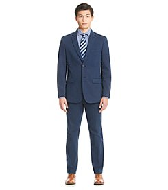 Nautica® Men's Navy Cotton Solid Suit Separates