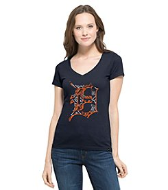 47 Brand ® MLB® Detroit Tigers Women's Crosstown Short Sleeve Tee
