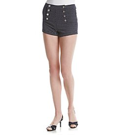 Crave Fame® Polka Dot Sailor Shorts