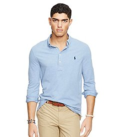 Polo Ralph Lauren® Men's Long Sleeve Popover Polo