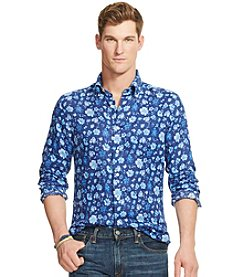 Polo Ralph Lauren® Men's Printed Long Sleeve Sport Shirt