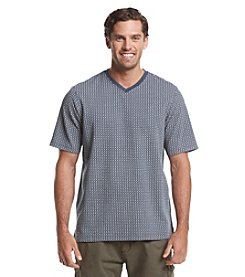 Weatherproof Vintage® Men's Printed Short Sleeve V-Neck Shirt