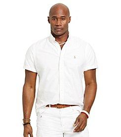 Polo Ralph Lauren® Men's Big & Tall Short-Sleeve Oxford Button Down Shirt