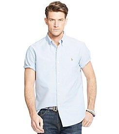 Polo Ralph Lauren® Men's Short-Sleeve Oxford Button Down Shirt