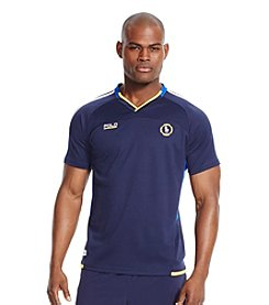 Polo Sport® Men's Micro-Dot V-Neck Short Sleeve T-Shirt