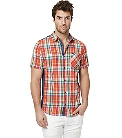 Buffalo by David Bitton Men's Short Sleeve Woven Shirt