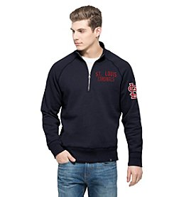 MLB® St. Louis Cardinals Men's Gamebreak Quarter Zip Long Sleeve Pullover