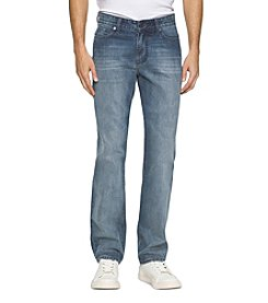 Calvin Klein Jeans® Men's Straight Chalked Jeans