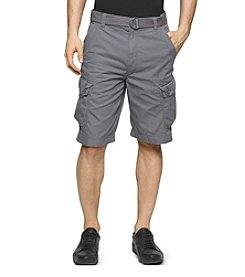 Calvin Klein Jeans® Men's Belted Ripstop Shorts