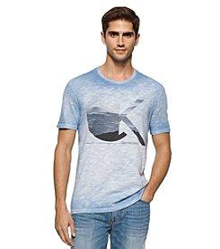 Calvin Klein Jeans® Men's Clouds Crew Neck Short Sleeve Tee