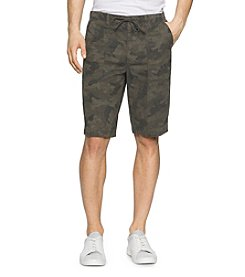 Calvin Klein Jeans® Men's Camo Poplin Shorts