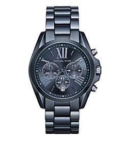 Michael Kors® Women's Bradshaw Navy IP Chronograph Watch